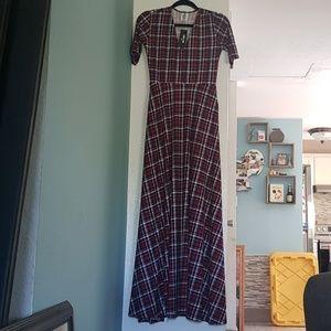 Agnes & Dora Plaid Austen Dress size Small